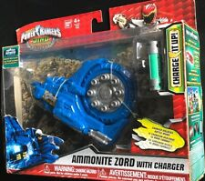 Power Rangers Dino Super Charge Ammonite Zord With Charger