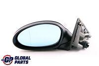 BMW 1 Series 3 E87 Left Heated Wing Mirror N/S Black Sapphire Metallic 475