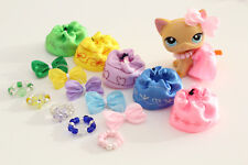 15 Mixed ❤️ Accessories ❤️ Skirts, Necklaces & Bows For LPS Littlest Pet Shop