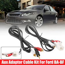 Auxiliary Adaptor Cable Aux Kit For iPod CD MP3 For Ford BA-BF Falcon Territory