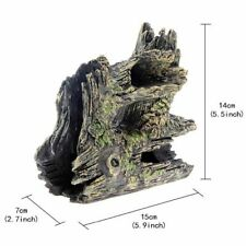 Aquarium Synthetic Resin Driftwood Ornament Decoration Fish Tank Accessories New