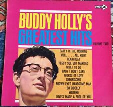 Buddy Holly Greatest Hits  Volume Two. LP