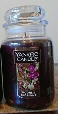 Yankee Candle   Moonlit Blossoms  22 oz   1 Single NEW Free Priority Shipping