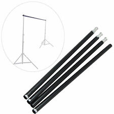 DynaSun Tube Support Background 4 section Crossbar Kit Backdrop for Studio Photo