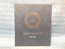 1886-1986 Mercedes-Benz Complete Auto History By Edita in 2 Volumes with Sleeve