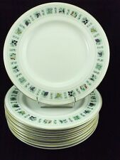 ROYAL DOULTON- SERVICE TAPESTRY- 10  ASSIETTES PLATES Ø 23 CMS