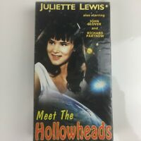 Meet The Hollowheads VHS Sci Fi Horror Fantasy Juliette Lewis John Glover