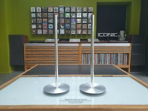 Bang & Olufsen Original BeoLab 3 Speaker Floor Stands (pair) with Fixings B&O