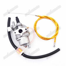 Gold Gas Throttle Cable Carburetor Fuel Filter For 47 49cc Mini Dirt Pocket Bike