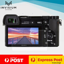 INVISIUM Tempered Glass Screen Protector Sony A A6600 A6500 A6300 A6000 NEX 7 6