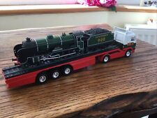 "Rare Corgi Eddie Stobart Scania Truck Carrying Southern 900 Steam Train ""Eton"""