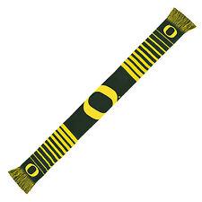Oregon Ducks Scarf Knit Winter Neck NEW NCAA - Big Logo - Team Colors