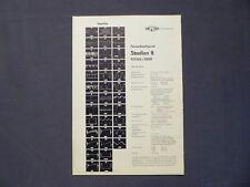RAFENA Service - Helfer 29a, Fernsehtischgerät Stadion 8, DDR 1965