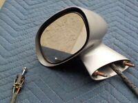Corvette C3   Drivers Side Sport Mirror w/ Remote 1977-1982  CLOSE OUT SALE