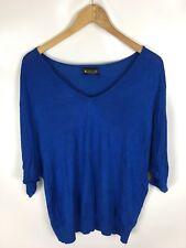LAURA SCOTT Pullover, blau, Größe 40/42