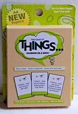 The Game of Things... Humor in a Box! Expansion Deck 1 NIB