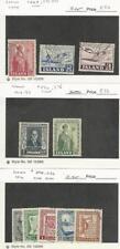 Iceland, Postage Stamp, #269, 271-2, 270, 276, 278-282 Used, 1950-53, JFZ
