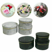 Florist Hat Boxes set of 3 Christmas Flowers Gifts Living Vase Gift box wedding