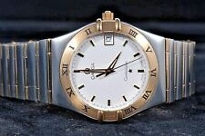 Omega Constellation 1212.30.00 NEW  Steel-yellow gold on steel-gold full bar