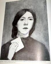 Gwen John Catalogue Raisonne, Welsh Painter. 1987 1st Ed, Modern British Art