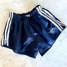 Adidas Shiny Nylon Shorts Glanz Vintage Football Swim Retro Gym Running