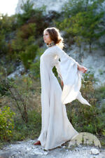 "20% DISCOUNT! White Medieval Linen Chemise ""Archeress"""
