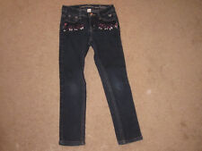 Girls Justice Premium Blue Jeans with Embellished Stones (7R)