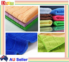 Micro Fibre Microfibre Cleaning Cloth Microfiber Dish Car Gym Towel Glass Bulk
