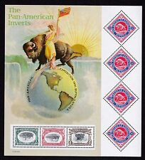 US  3505 - Pan-American Inverts  Cent.   - Full sheet  - 2001  B6324