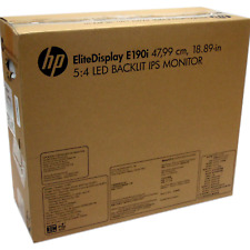 New In Opened Box HP EliteDisplay E190i 18.9-inch 5:4 LED Backlit IPS Monitor