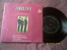 "ZIMBO TRIO-VOLUME 2 BRAZIL1968 7"" EP LATIN,BOSSANOVA"