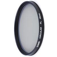ZOMEI 49/52/55/58/62/67/72/77mm CPL Circular Polarizing Filter For Canon Camera