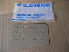Teledyne 38Nc-010 Ss Erasing Shield 8 Pcs (Aa8501-8)