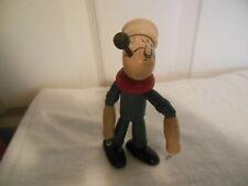 Antique 1930's Jaymar Wooden Figurine Popeye the Sailor Man Adjustable