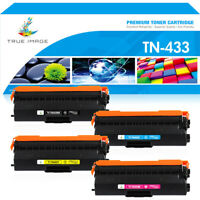 4x Toner Compatible with Brother HL-L8260cdw HL-8360cdw MFC-L8900cdw TN433 TN431