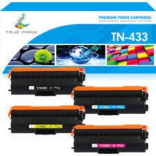 4x Toner Compatible with Brother HL-L8260cdw HL-8360cdw MFC-L8900cdw TN433 TN431