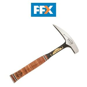 Estwing E30SE 22oz Pointed Tip Rock Pick Hammer Leather Handle Geologist