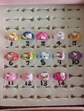 HELLO KITTY PLASTIC RINGS 14 DESIGNS
