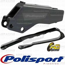 Polisport Black Chain Guide & Slider Kit For Suzuki RM 125 RM 250 RMZ 250 450
