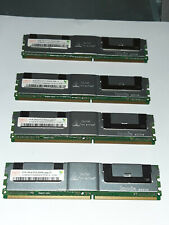 NEW 16GB MEMORIA RAM 4x4GB DDR2 667 FULLY BUFFER PC2-5300F MacPro 1.1 2.1 3.1 HP