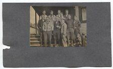 "1908  Michigan Baseball Team ""R. R. Mellon"" Player Type 1 Photo Original Antique"