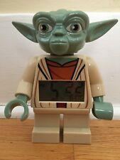 Collectible Lego Star Wars Yoda Alarm Clock Figure 2013