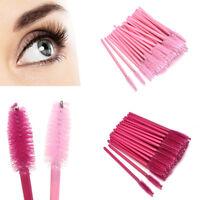 50pcs Disposable Eyelash Make-up Brush Mascara Wands Extension Applicator Tool