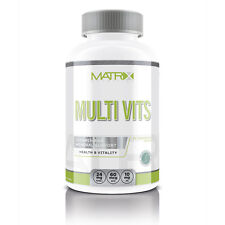 MULTI VITS VITAMINS - HEALTH & RECOVERY - ESSENTIAL VITAMINS - X120 - MATRIX NUT