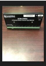 Campbell Scientific Sdm-Sw8A 8 Channel Switch Closure Input Module