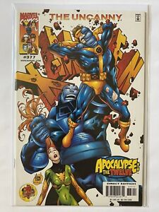 Uncanny X Men 377 Marvel Comics 2000 VF / NM 8.5 - 9.0 Apocalypse / The Twelve