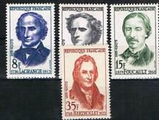 FRANCE: MiNr. 1182 - 1185 **, cachet, scientifiques 1958 [3200]