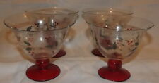 Pfaltzgraff Wineberry footed dessert bowl set of 4