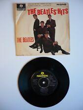 """The Beatles The Beatles Hits EP Vinyl UK 1963 Parlophone 2N/1N 7"""" Single EXC"""