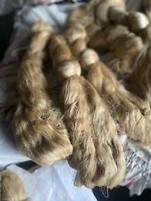 Antique Silk Skeins, Pure French Silk, Lace Making & Fine /100s Yards, Old Stock
